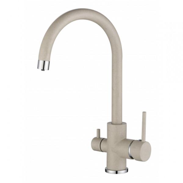 Смеситель для кухни на две воды Aquasanita Sabiaduo 2963-111