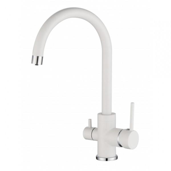 Смеситель для кухни на две воды Aquasanita Sabiaduo 2963-710