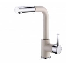 Смеситель для кухни с выдвижным изливом Aquasanita Modus 2383-111