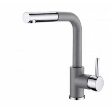 Смеситель для кухни с выдвижным изливом Aquasanita Modus 2383-202