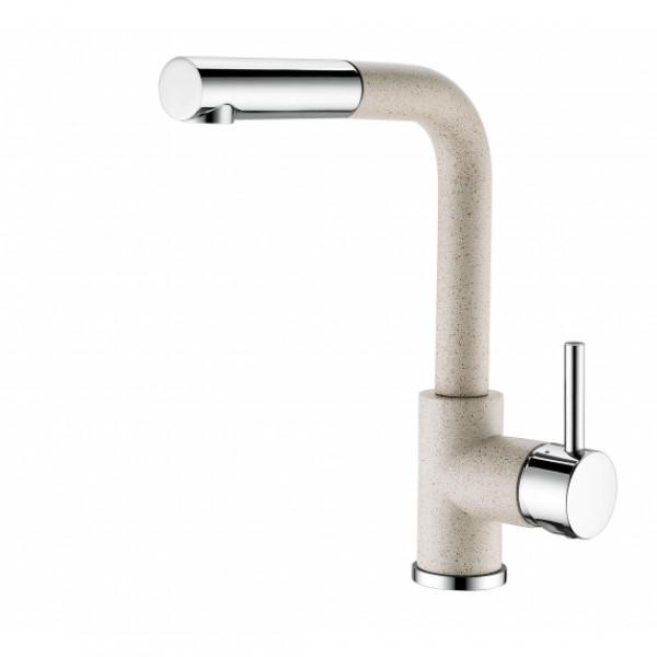 Смеситель для кухни с выдвижным изливом Aquasanita Modus 2385-112