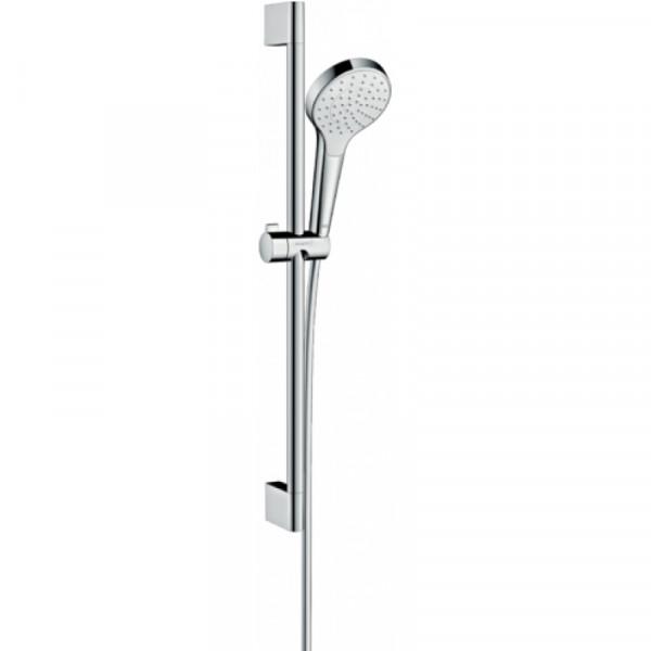 Душевой набор, хром/белый Hansgrohe Croma select S 26564400