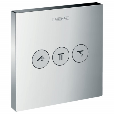 Запорный вентиль для 3 потребителей Hansgrohe ShowerSelect Select 15764000