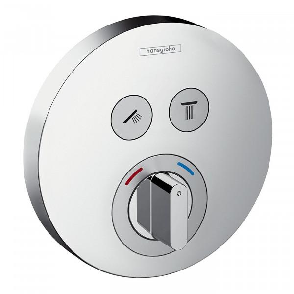 Термостат для двух потребителей Hansgrohe ShowerSelect 15748000