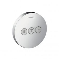 Запорный вентиль для 3 потребителей Hansgrohe ShowerSelect S 15745000