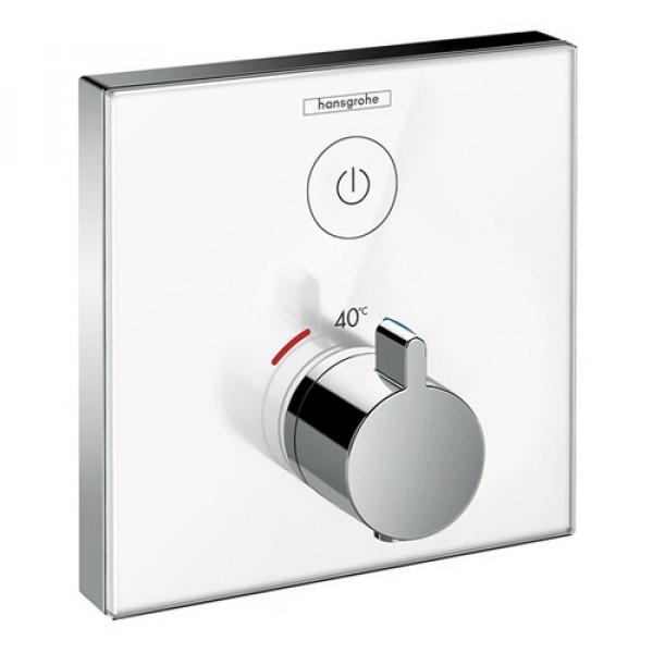 Термостат, белый/хром Hansgrohe ShowerSelect 15737400