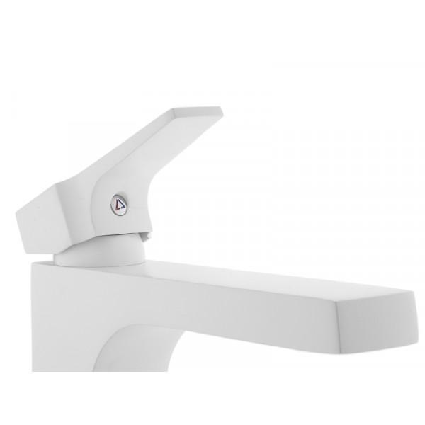 Смеситель для умывальника NEWARC Aqua 941001W, белый