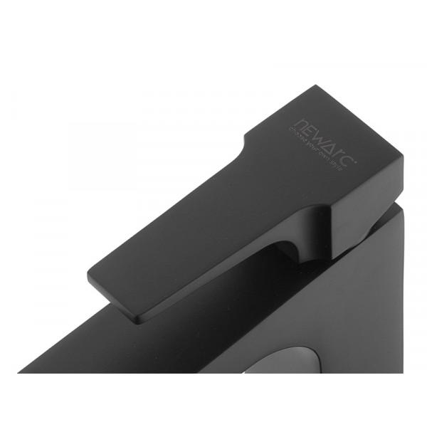 Смеситель для умывальника NEWARC Aqua 941001B, черный