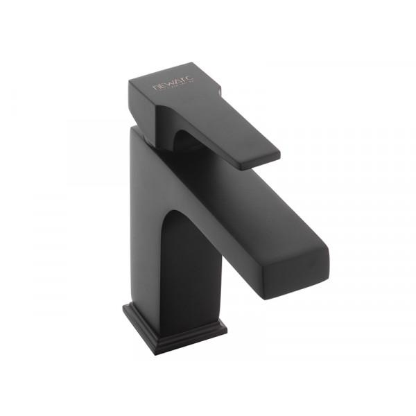 Смеситель для умывальника NEWARC Aqua 941521B, черный