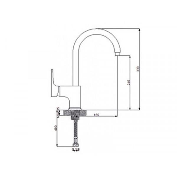 Кухонный смеситель NEWARC Aqua 941881