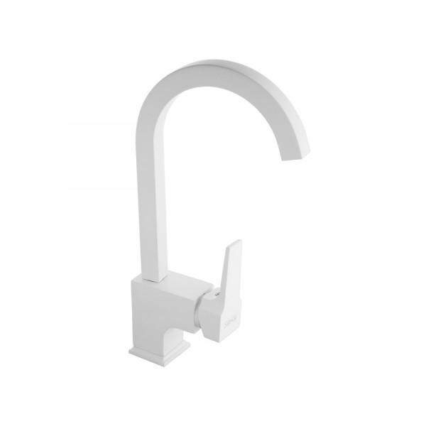 Кухонный смеситель NEWARC Aqua 941881W, белый