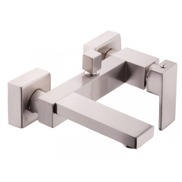 Смеситель для ванны NEWARC Cubic 871511N, никель