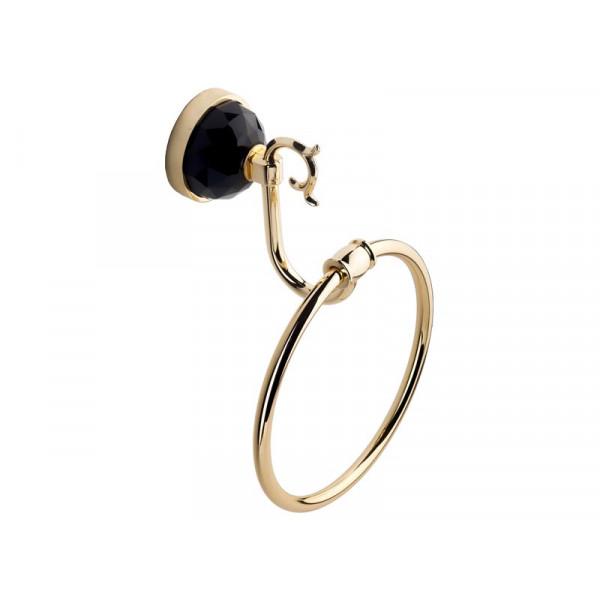 Кольцо для полотенца, золото KUGU Diamond 1104G