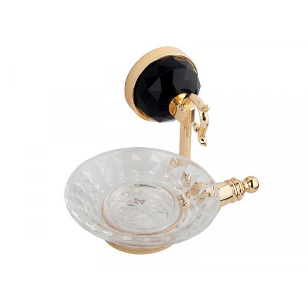 Настенная мыльница, золото KUGU Diamond 1107G