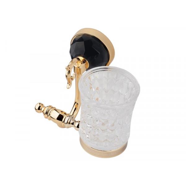 Стакан для зубных щеток, золото KUGU Diamond 1106G