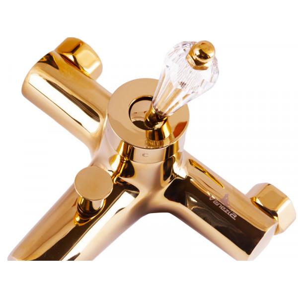 Смеситель для ванны, золото VENEZIA Diamonod Gold 5010201