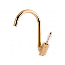 Кухонный смеситель, золото VENEZIA Diamonod Gold 5010202