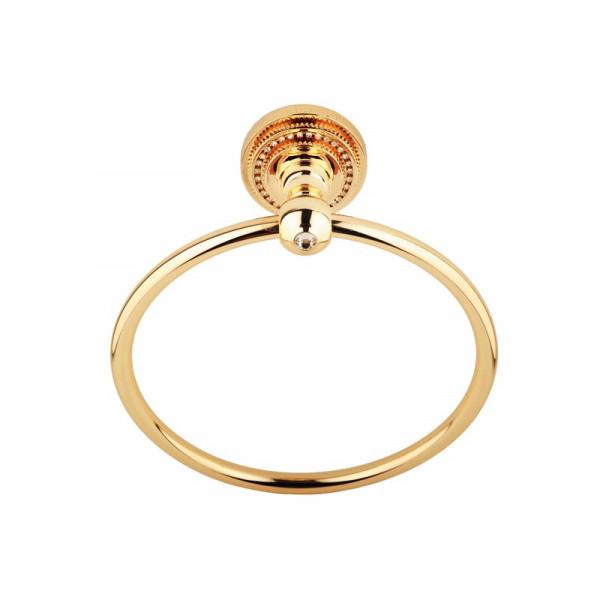 Кольцо для полотенца, золото KUGU Eldorado 804G