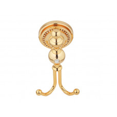 Крючок двойной, золото KUGU Eldorado 810G