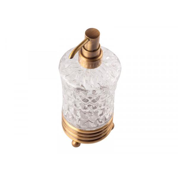 Дозатор для жидкого мыла, античная бронза KUGU Hestia antique Freestand 930A