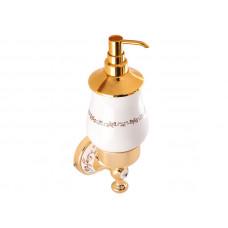 Дозатор для жидкого мыла, золото KUGU Medusa 714G
