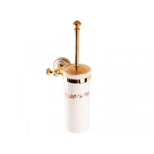 Туалетный ёршик, золото KUGU Medusa 705G