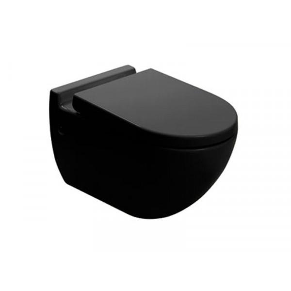 Чаша подвесного унитаза Newarc Modern 3823B, черный