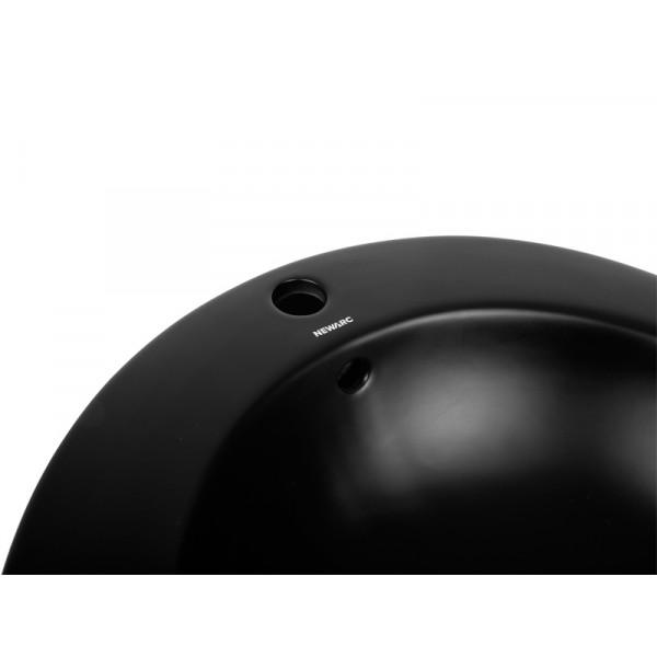 Умывальник напольный Newarc Modern 3812B-M, черный матовый