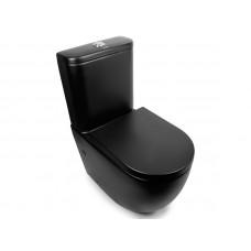 Унитаз-компакт Rimless, черный матовый Newarc Modern 3822B-M