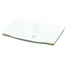 Умывальник, белый-золото IDEVIT Neo Classic 3301-1005-0088