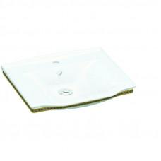 Умывальник, белый-золото IDEVIT Neo Classic 3301-0805-0088