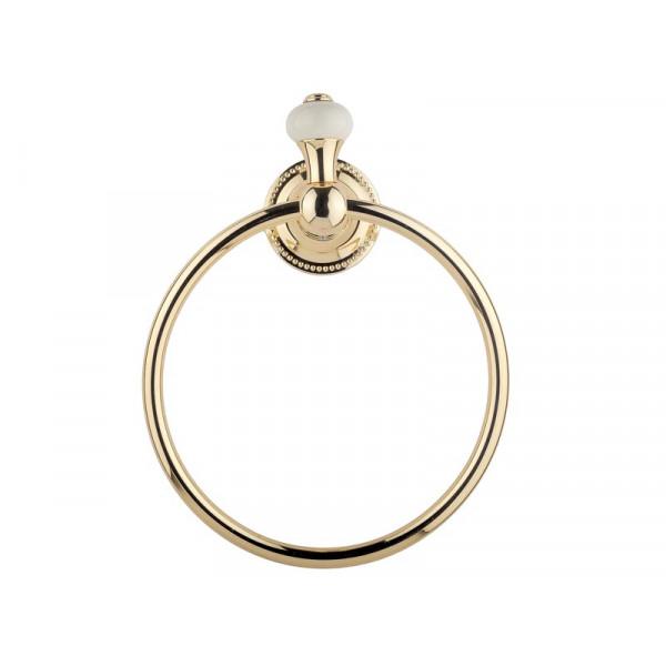 Кольцо для полотенца, золото KUGU Pan 004G