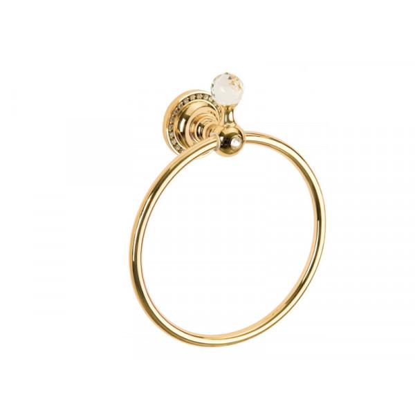 Кольцо для полотенца, золото KUGU Swan 404G