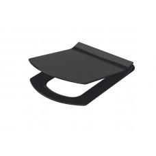 Сиденье для унитаза Soft Close Slim, черный IDEVIT Vega 53-02-06-004