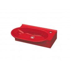 Умывальник IDEVIT Myra 0201-2505-08, красный