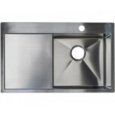 Кухонная мойка стальная Asil AS 3071-L Light Brushed