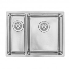 Кухонная мойка стальная Asil AS 368-L Polished