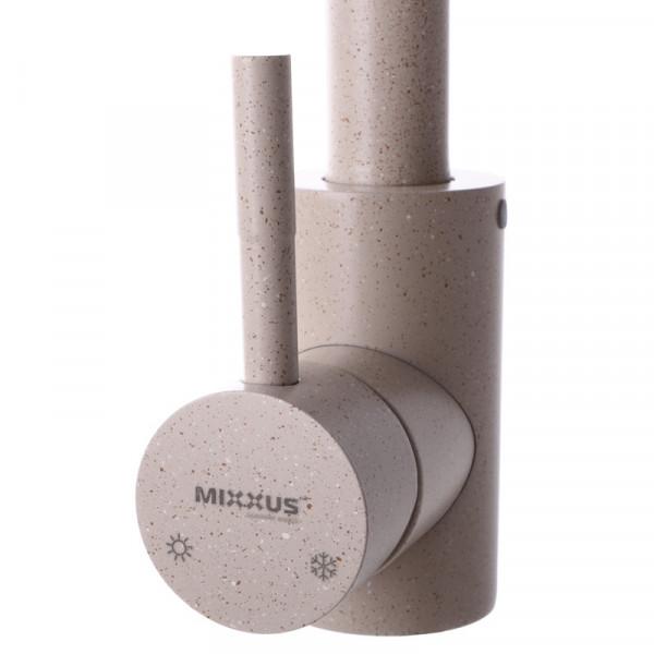 Смеситель для кухни MIXXUS SUS-011 бежевый (SS0002)