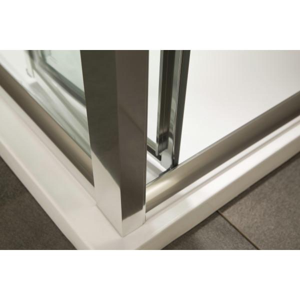 Душевая дверь в нишу 80х195 EGER Bifold 599-163-80(h)