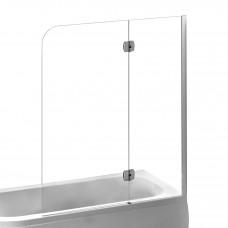Шторка для ванни правостороння 120х150 Eger 599-120CH/R