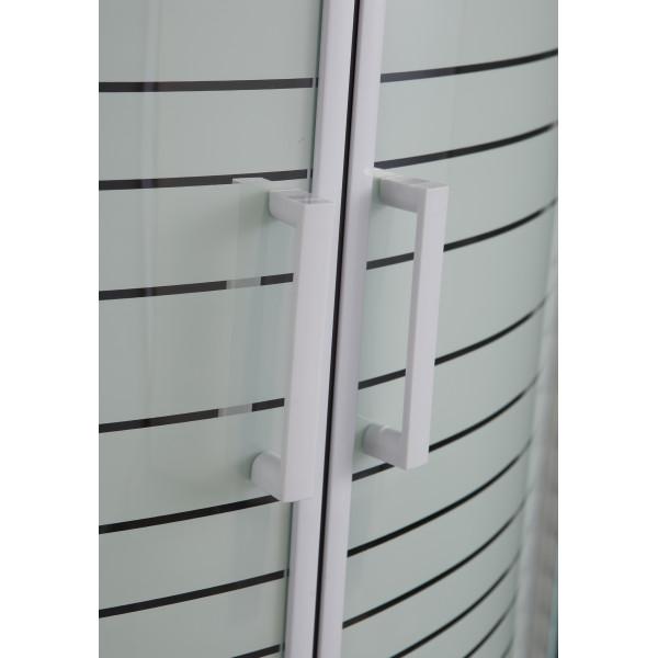 Душевая кабина 90x90х200 Eger TISZA 599-021-A