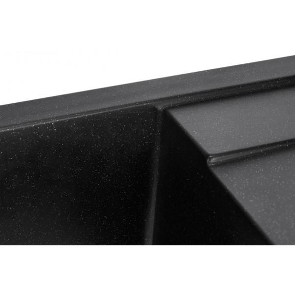 Кухонная мойка Granado ALICANTE BLACK SHINE