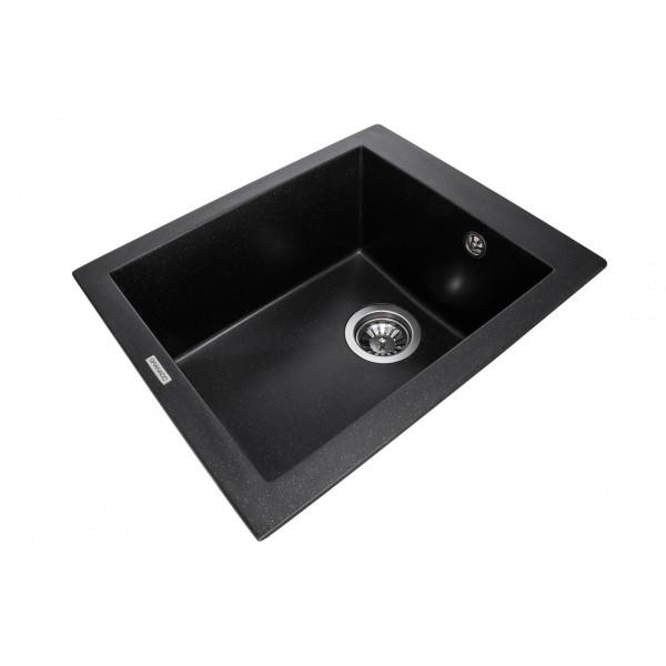 Кухонная мойка Granado CADIZ BLACK SHINE