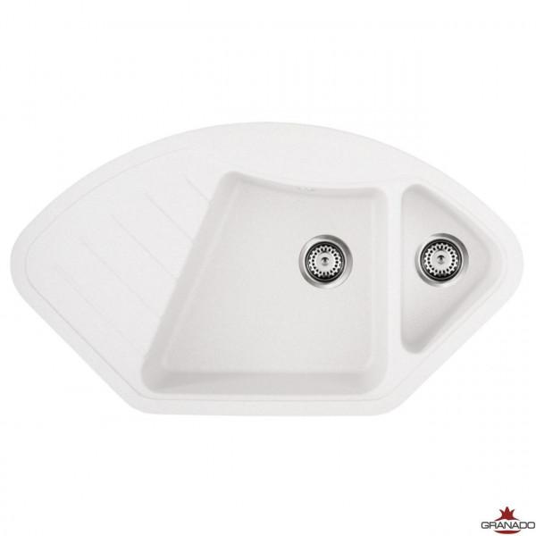 Кухонная мойка GRANADO BARCELONA WHITE
