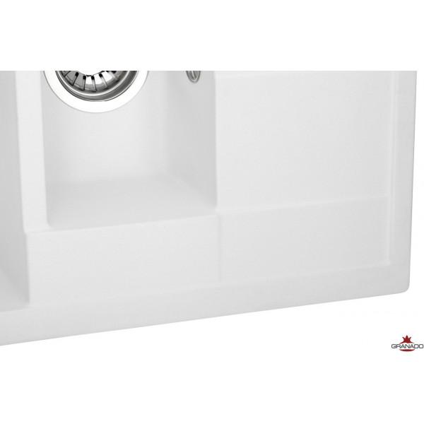 Кухонная мойка GRANADO LEON WHITE