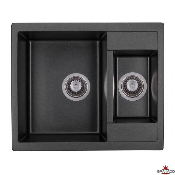 Кухонная мойка GRANADO SAMORA BLACK SHINE