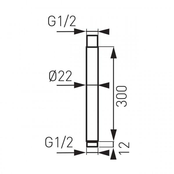 Кронштейн для верхнего душа Ferro RNS30