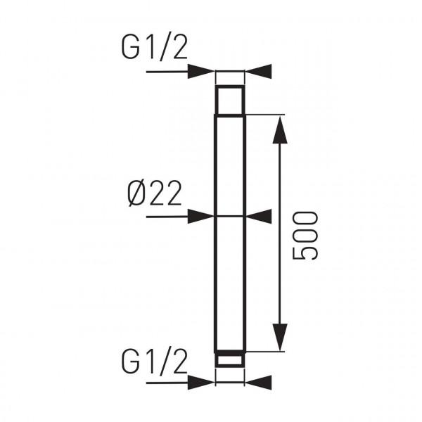 Кронштейн для верхнего душа Ferro RNS50