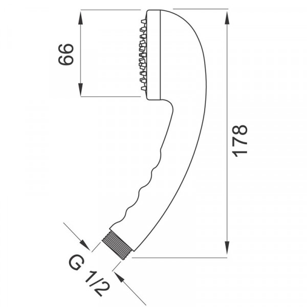 Ручной душ Ferro S318