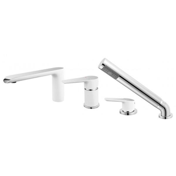 Смеситель ADORE для ванны с выдвижной душевой ручкой Ferro BDR11A